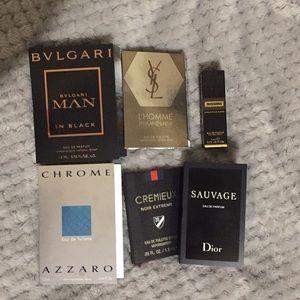 Other - Men Cologne samples set of 6